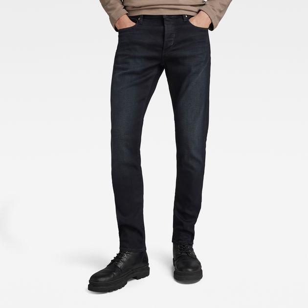 3301 slim jeans dk aged men g star raw. Black Bedroom Furniture Sets. Home Design Ideas
