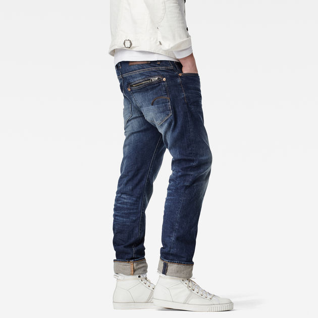 386093ea099a6 Attacc Straight Jeans   Dk Aged Antic   G-Star RAW®