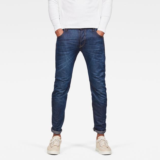 arc 3d slim jeans dk aged men g star raw. Black Bedroom Furniture Sets. Home Design Ideas