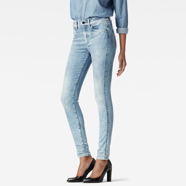 3301 Ultra High Rise Super Skinny Jeans - Blue G-Star