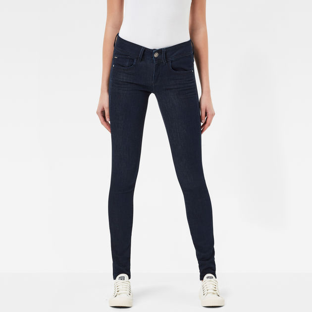eb08fbeeb893 lynn mid skinny jeans rinsed women g star raw®