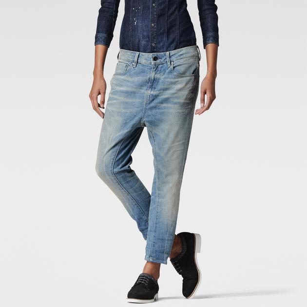 attacc low waist boyfriend jeans lt aged g star raw. Black Bedroom Furniture Sets. Home Design Ideas