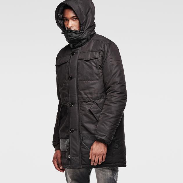 G star hooded parka coat