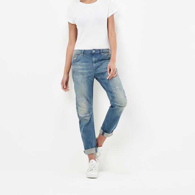 G-Star Womens Boyfriend Jeans G-Star