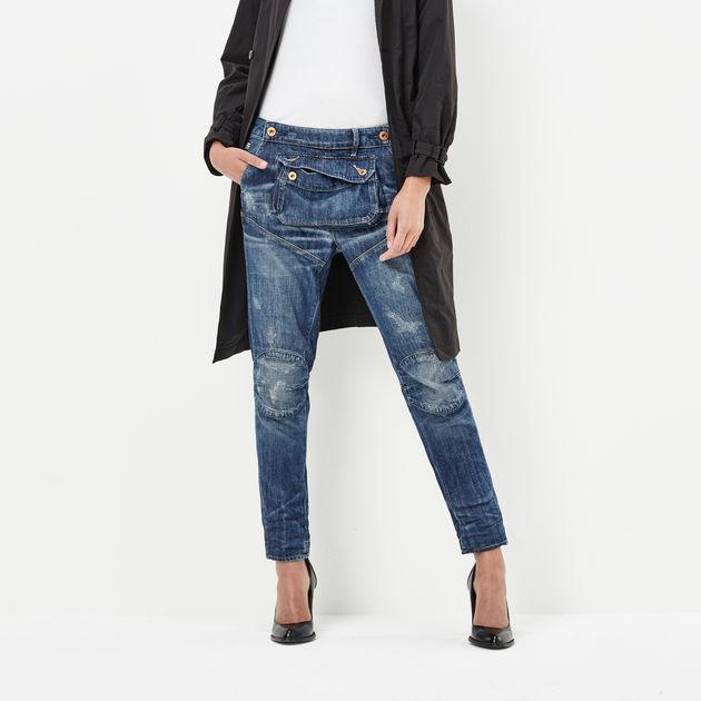 5620 3d pouch high waist boyfriend jeans g star raw. Black Bedroom Furniture Sets. Home Design Ideas