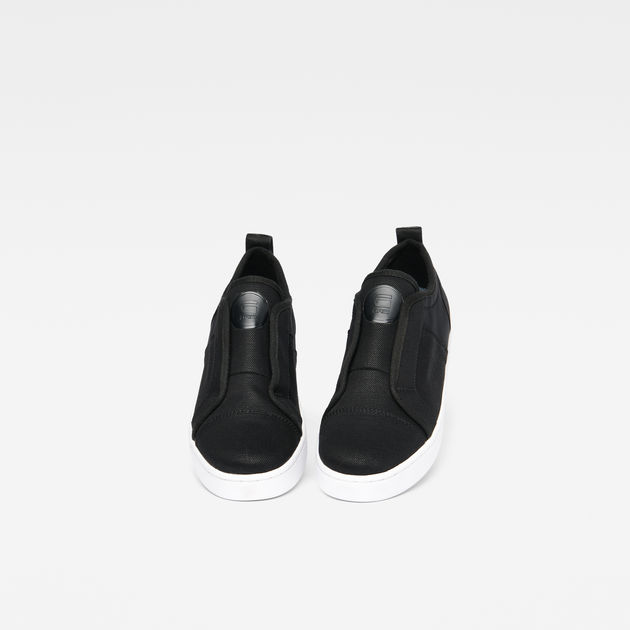 scuba slip on sneakers black women g star raw. Black Bedroom Furniture Sets. Home Design Ideas
