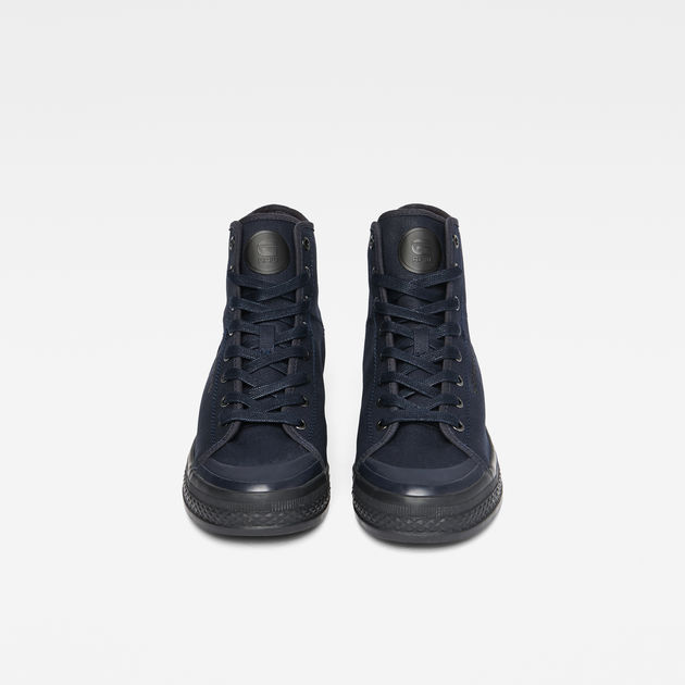Bayton High-Top Denim Sneakers  86cf2b509e1