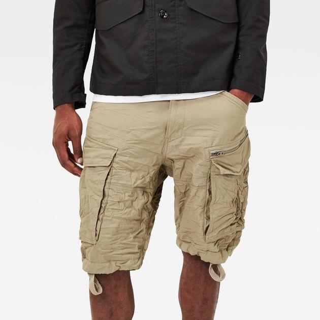 rovic zip 1 2 shorts dune g star sale men g star raw. Black Bedroom Furniture Sets. Home Design Ideas