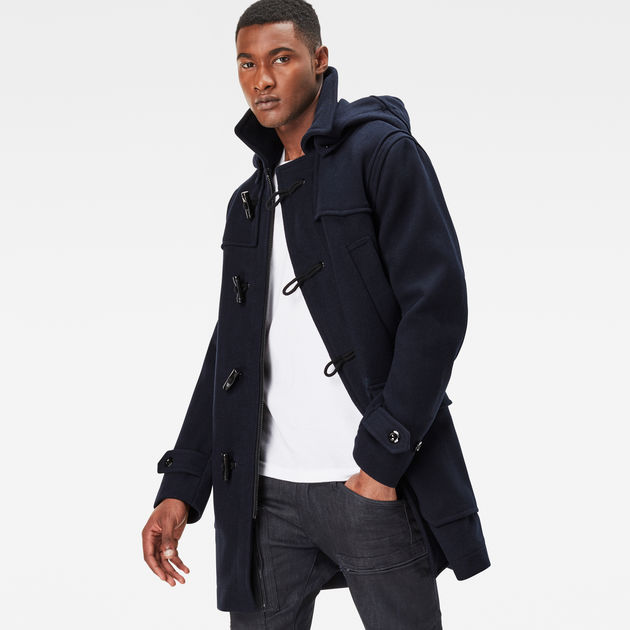 Wool Duffle Coat | Mazarine Blue | Men Sale | G-Star RAW®