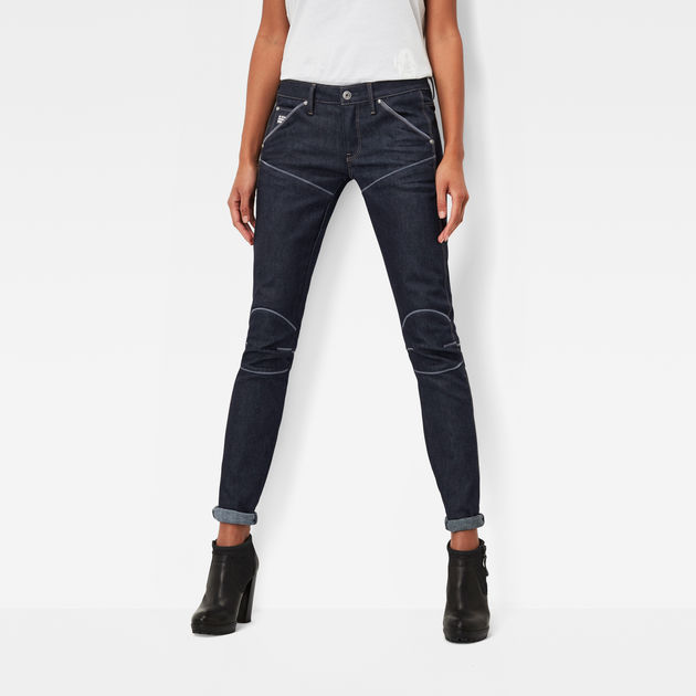5620 g star elwood explained mid waist skinny jeans g star raw. Black Bedroom Furniture Sets. Home Design Ideas