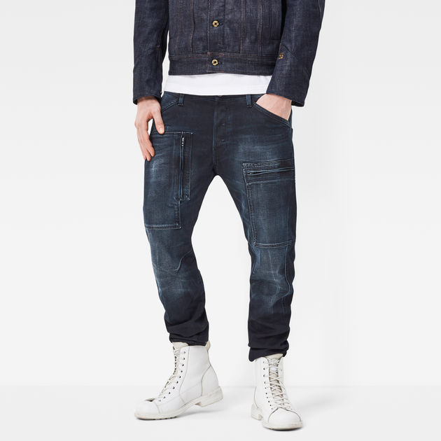 G-Star Men's Powel 3D Tapered Jeans