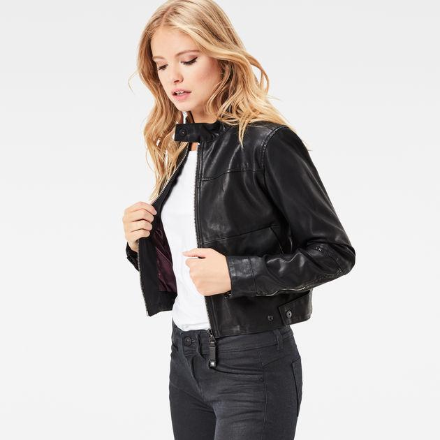 G star raw womens leather jacket