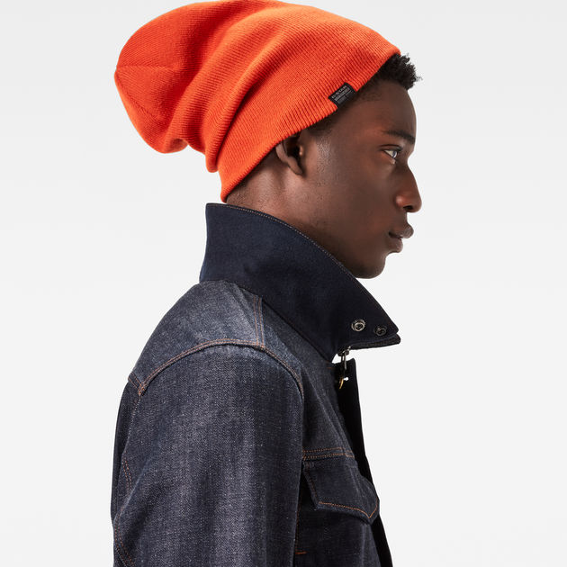 Effo Long Beanie   Tador Orange   G-Star Sale Men   G-Star RAW® 2192dffdeb3a