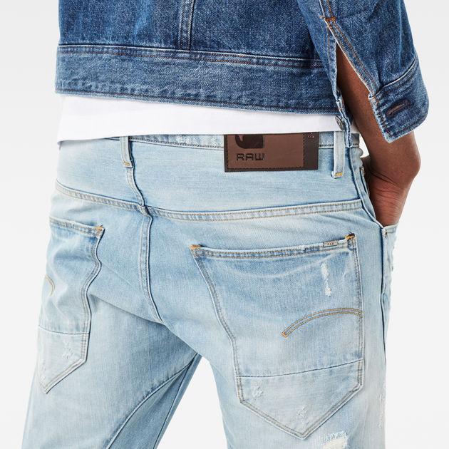4a1580ade2b Arc 3D Slim Jeans | Lt Aged Destroy | Men Sale | G-Star RAW®