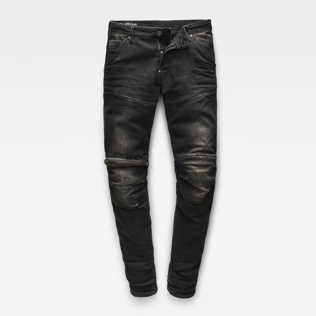 02356bbcba6c9d 5620 3D Zip Knee Super Slim Jeans | Dk Aged | G-Star RAW®