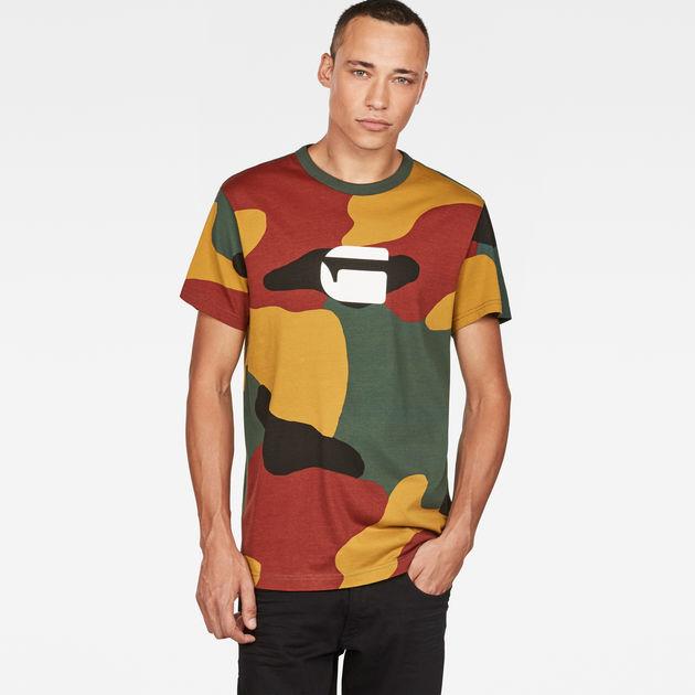 4ba18fe4ab6 Jigsaw Camouflage X25 Print T-Shirt