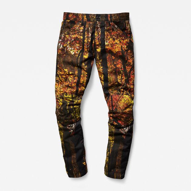 G-Star PHARRELL WILLIAMS - ELWOOD X52 3D - Pantalón de tela - rustic brown/mandarin