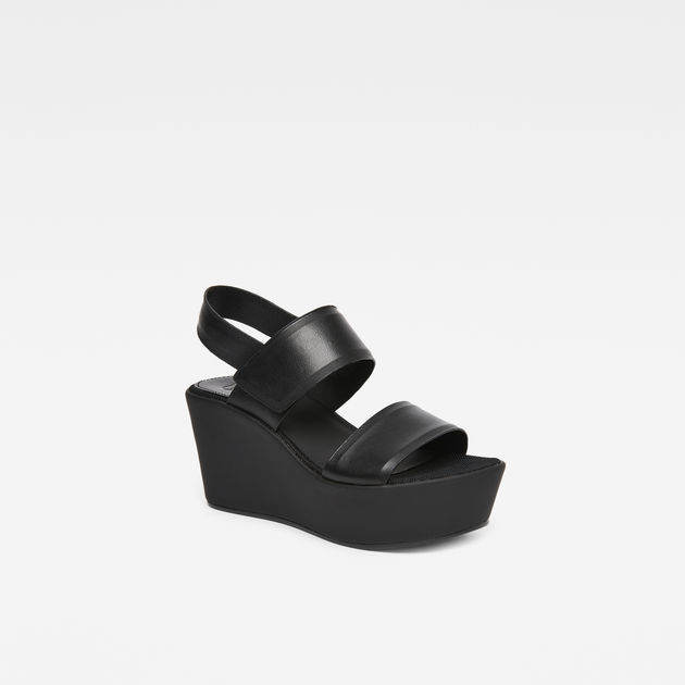 Womens Corestrap Flatform Platform Sandals G-Star
