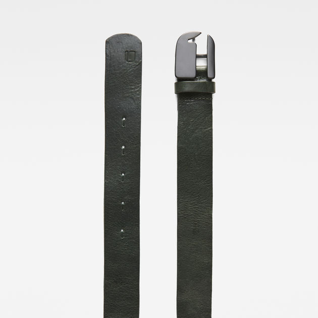 Rikku Logo Pin Belt   asfalt matt black   G-Star RAW® b489d7924a9
