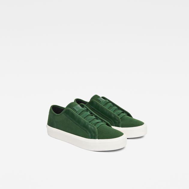 STRETT LOW - Sneaker low - deep nuri green