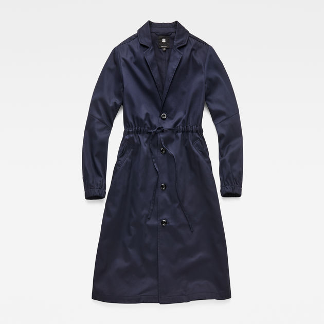 Deline Long Loose Trench G-Star