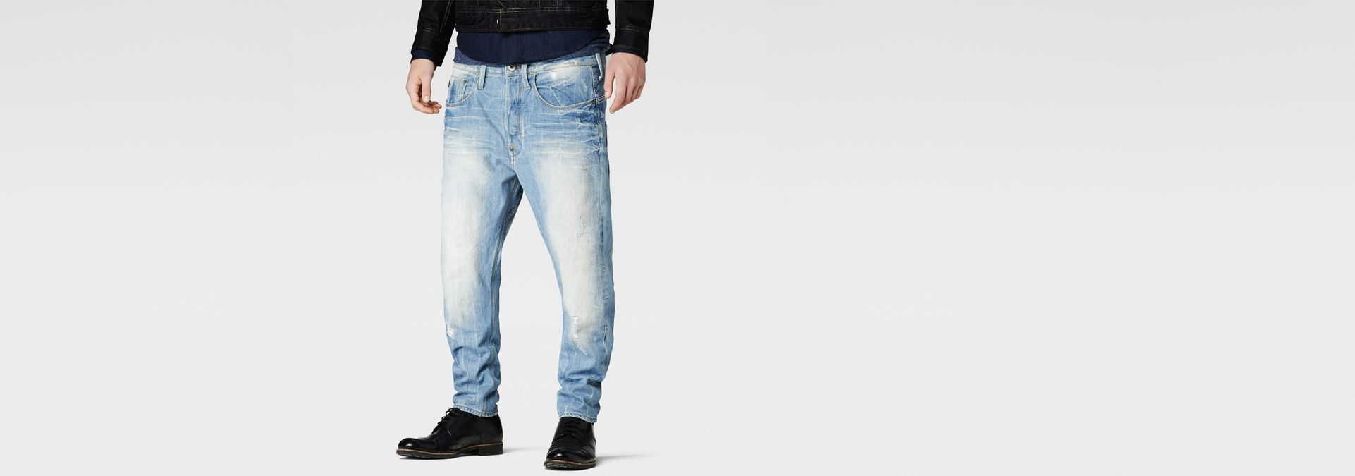G-Star RAW® Type C 3D Loose Tapered Jeans Light blue