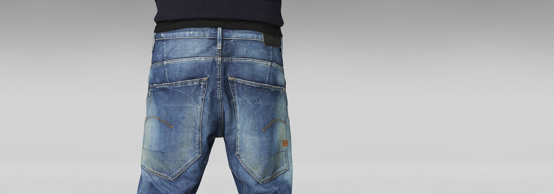 ... G-Star RAW® Type C 3D Loose Tapered Jeans Medium blue