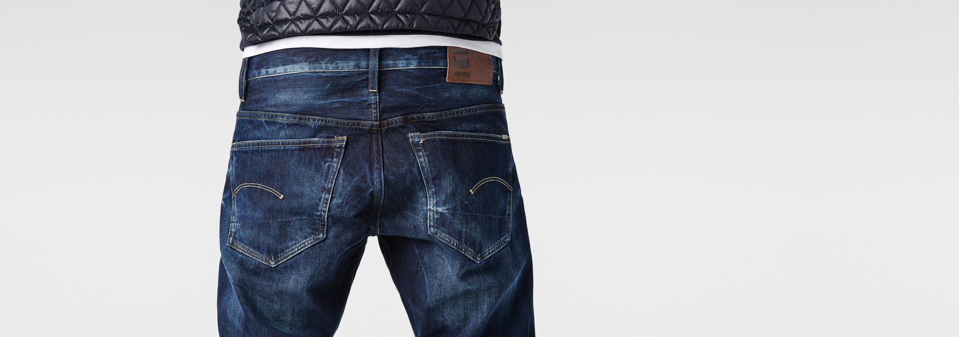 3301 tapered jeans dk aged men sale g star raw. Black Bedroom Furniture Sets. Home Design Ideas