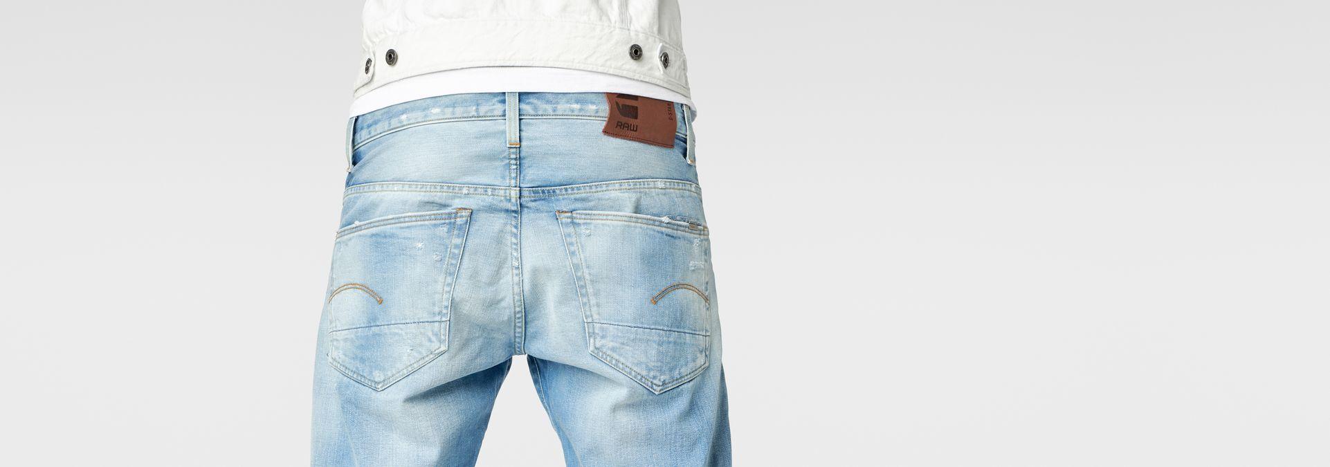 3301 tapered jeans lt aged destroy men sale g star raw. Black Bedroom Furniture Sets. Home Design Ideas