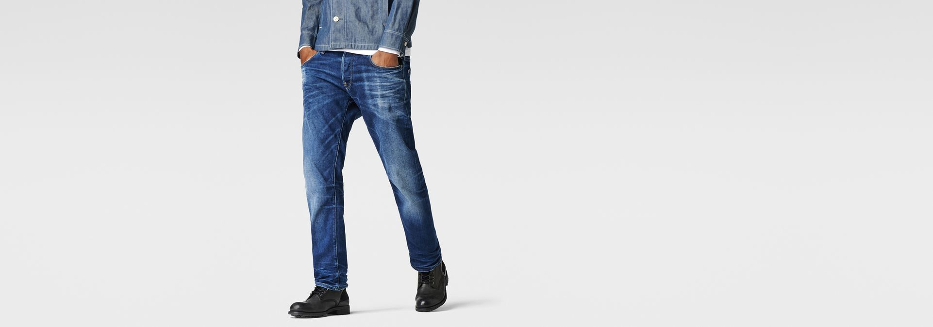 attacc straight jeans medium aged men g star raw. Black Bedroom Furniture Sets. Home Design Ideas
