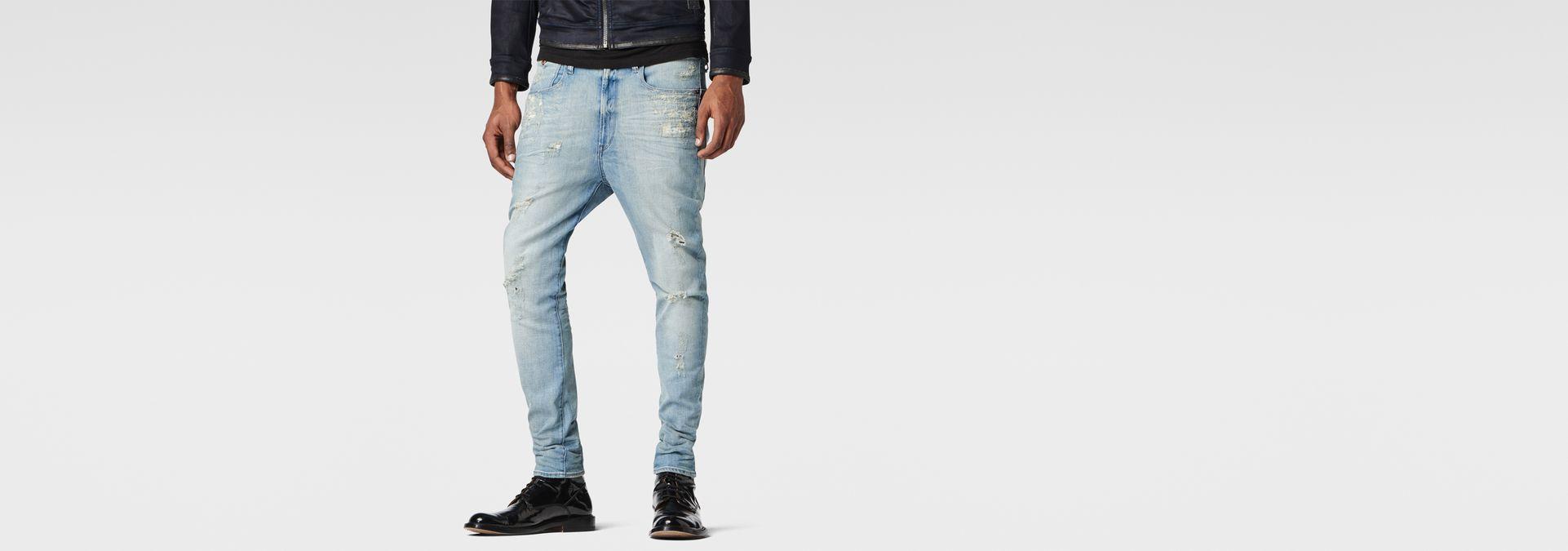 G-Star RAW® Type C 3D Super Slim Jeans Light blue ...
