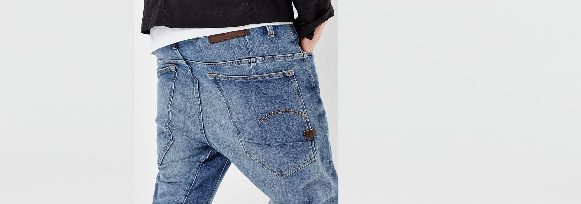 ... G-Star RAW® Type C 3D Skinny Jeans Medium blue ...