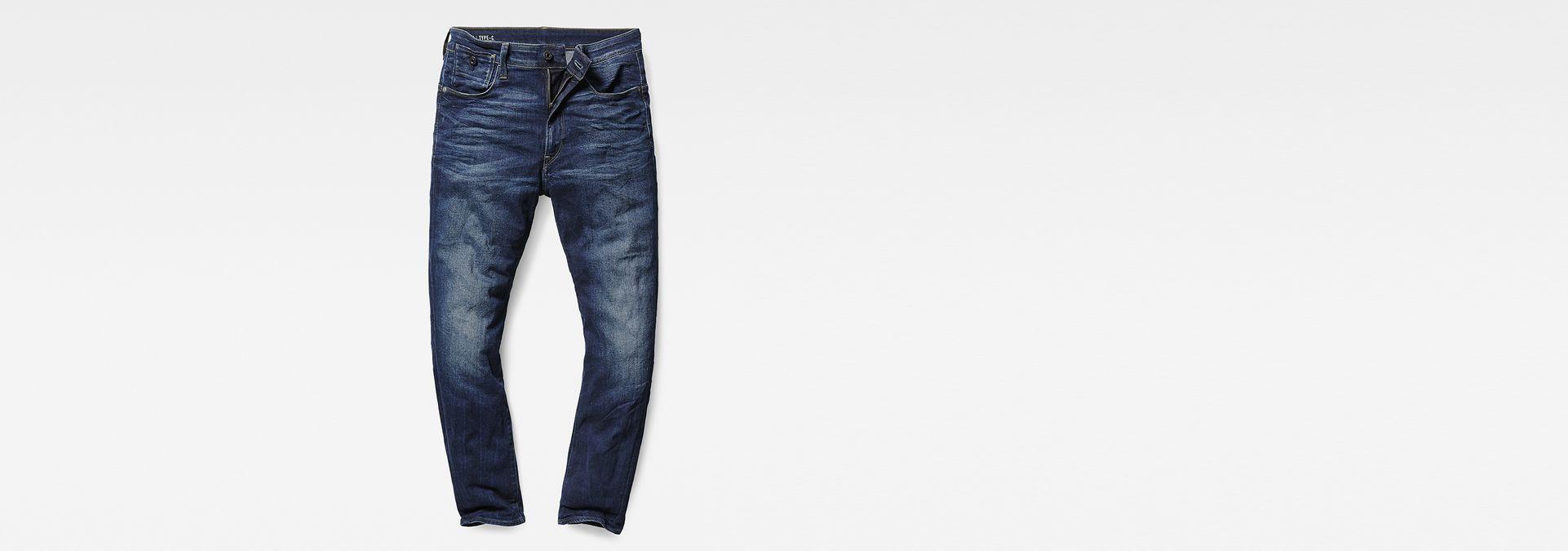 ... G-Star RAW® Type C 3D Super Slim Jeans Dark blue ...