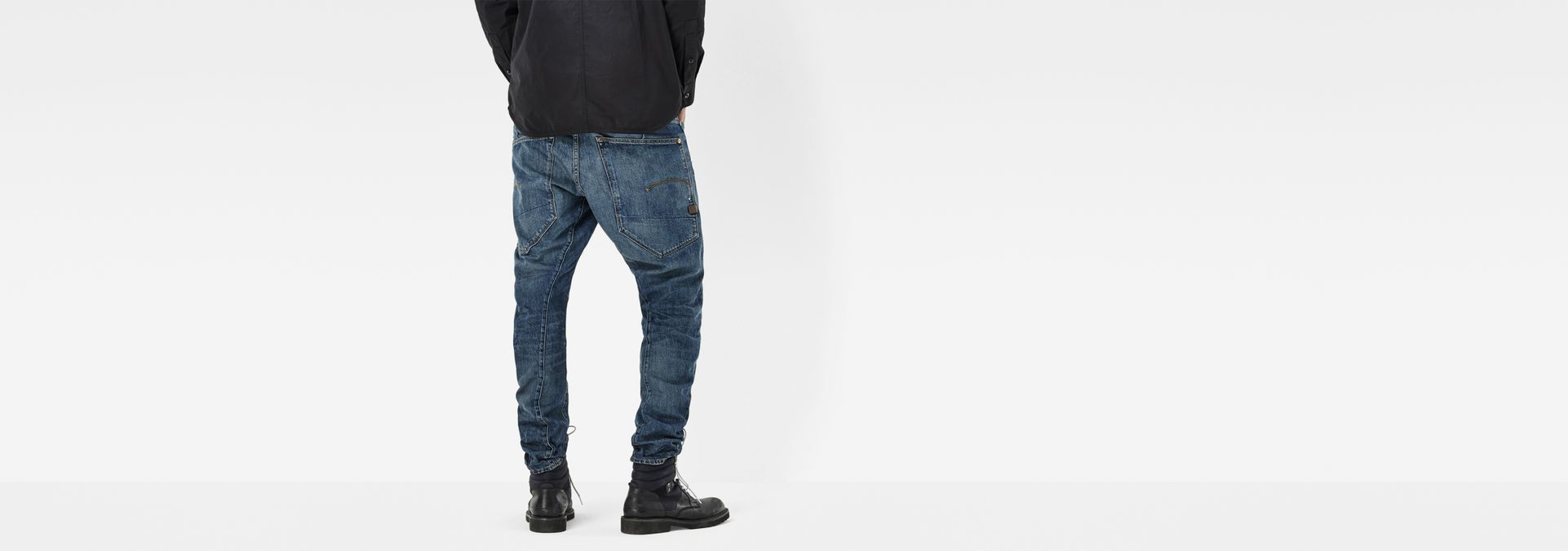 G-Star RAW® Type C 3D Tapered Jeans Dark blue ...