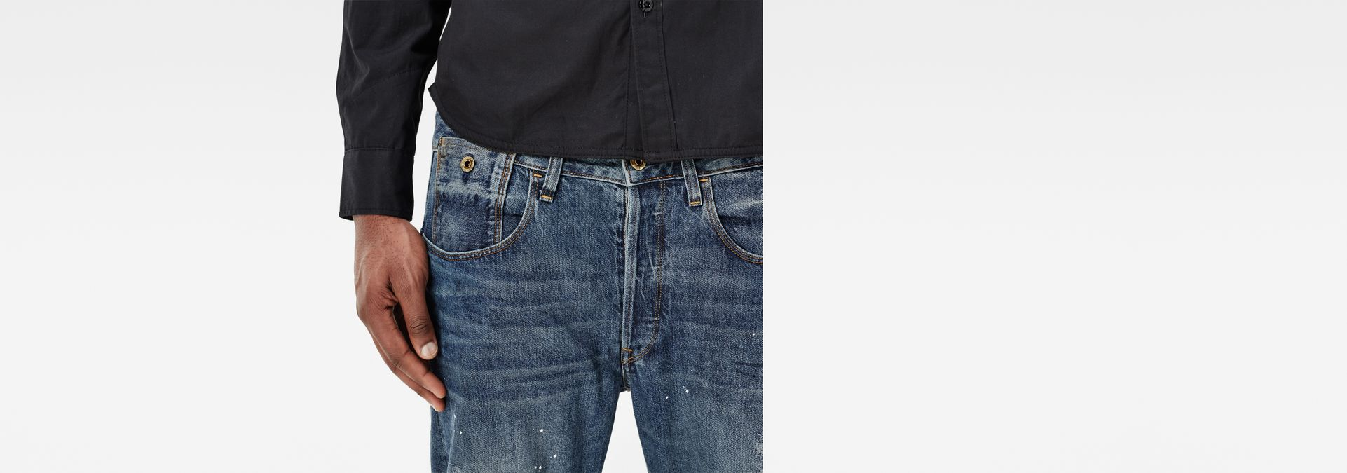 ... G-Star RAW® Type C 3D Tapered Jeans Dark blue
