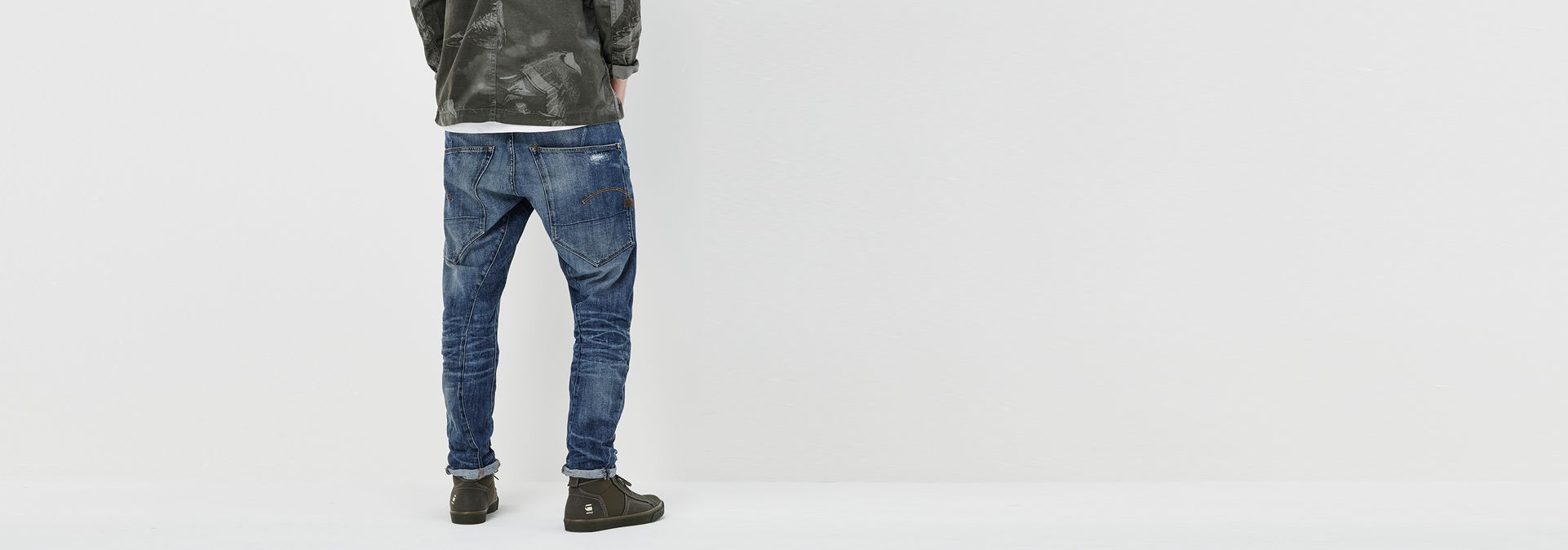 Flights G-Star RAW Type C 3D Loose Tapered Jeans Medium Aged Mens Jeans Buy Jeans for Men COLOUR-medium aged