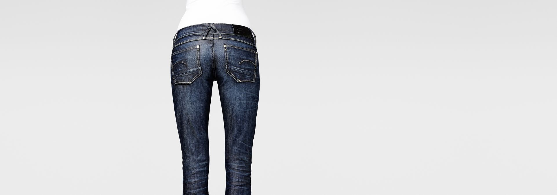 ... G-Star RAW® Type C 3D Loose Tapered Jeans Light blue ...