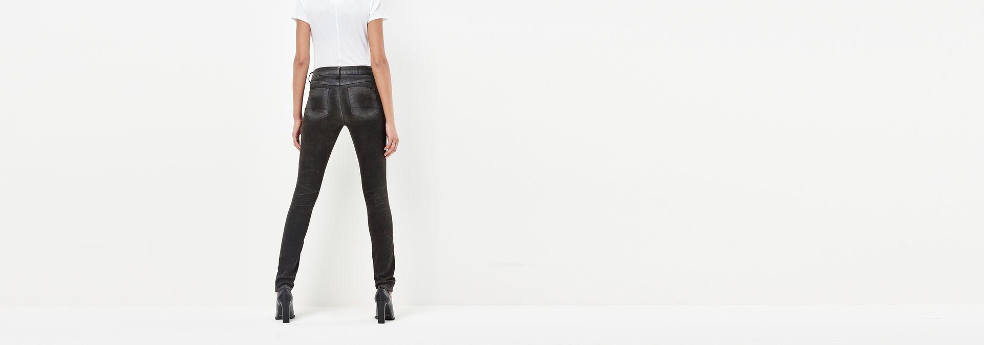 3301 high waist skinny jeans dk aged cobler g star raw. Black Bedroom Furniture Sets. Home Design Ideas