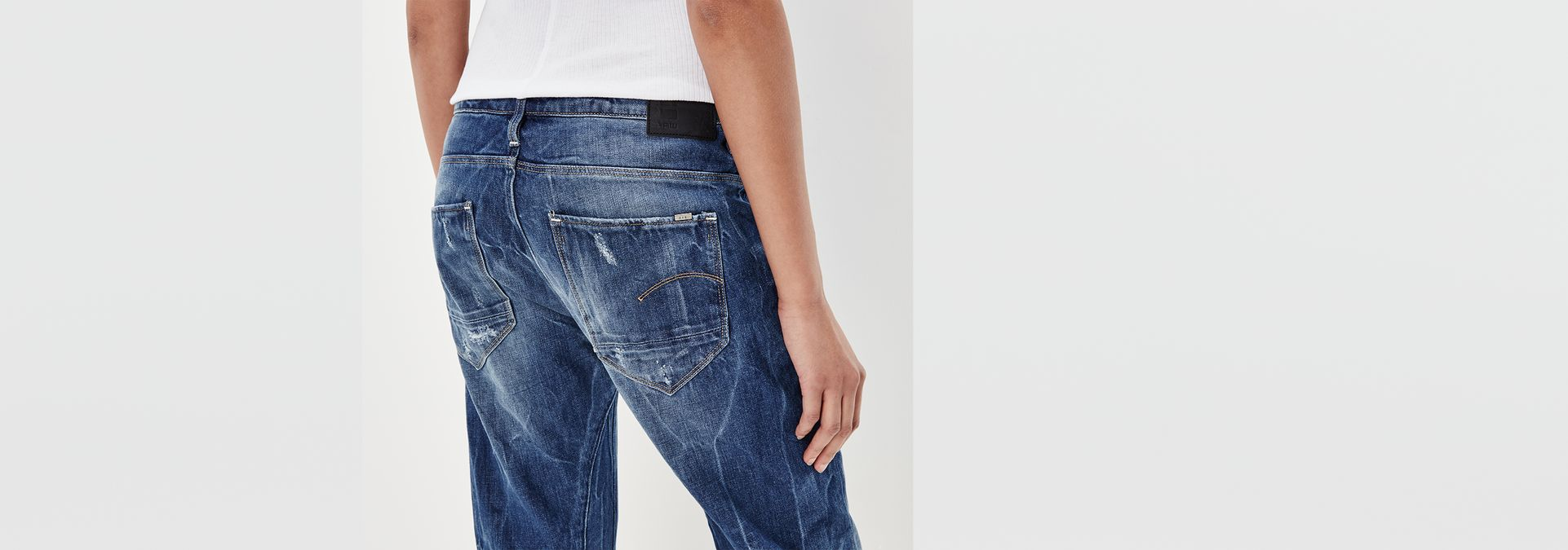 arc 3d low waist boyfriend jeans g star raw. Black Bedroom Furniture Sets. Home Design Ideas