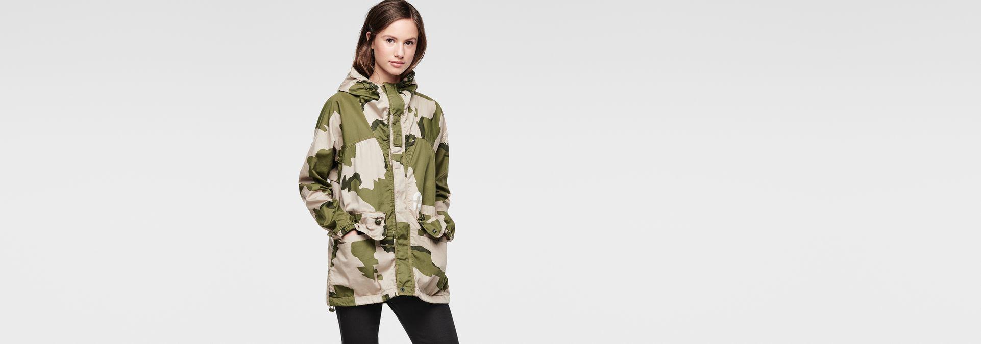g star jacke damen camouflage modische jacken dieser saison foto blog. Black Bedroom Furniture Sets. Home Design Ideas