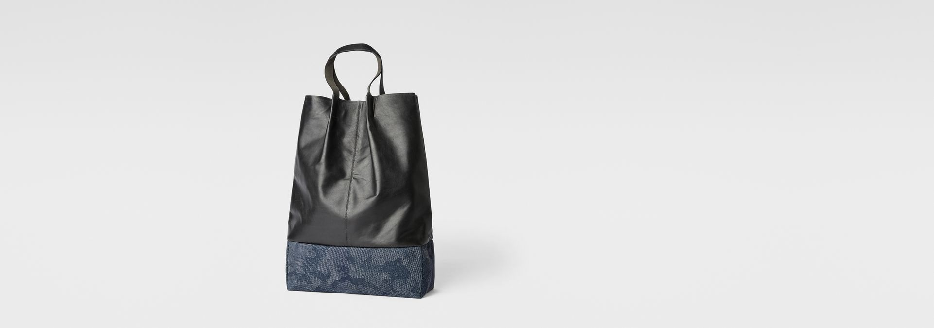 Derlil Leather Shopper Bag | black | Women | G-Star RAW®