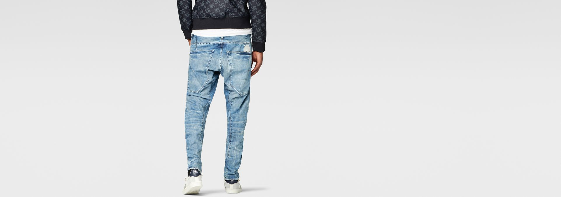 ... G-Star RAW® Raw For The Oceans - Type C 3D Tapered Jeans Light ...