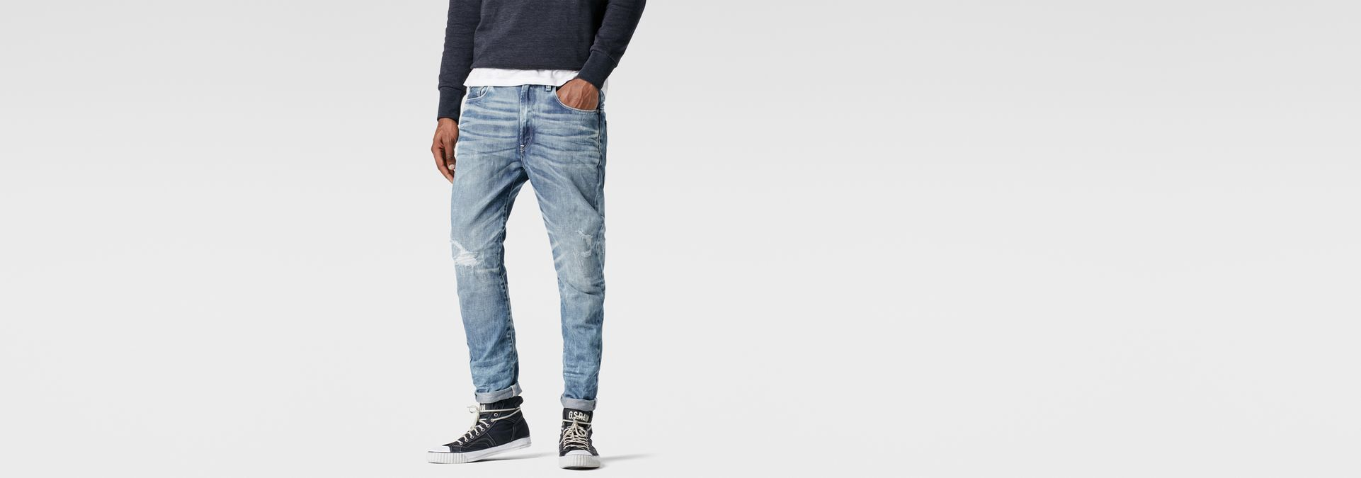 G-Star RAW® RAW for the Oceans - Type C 3D Super Slim Jeans ...