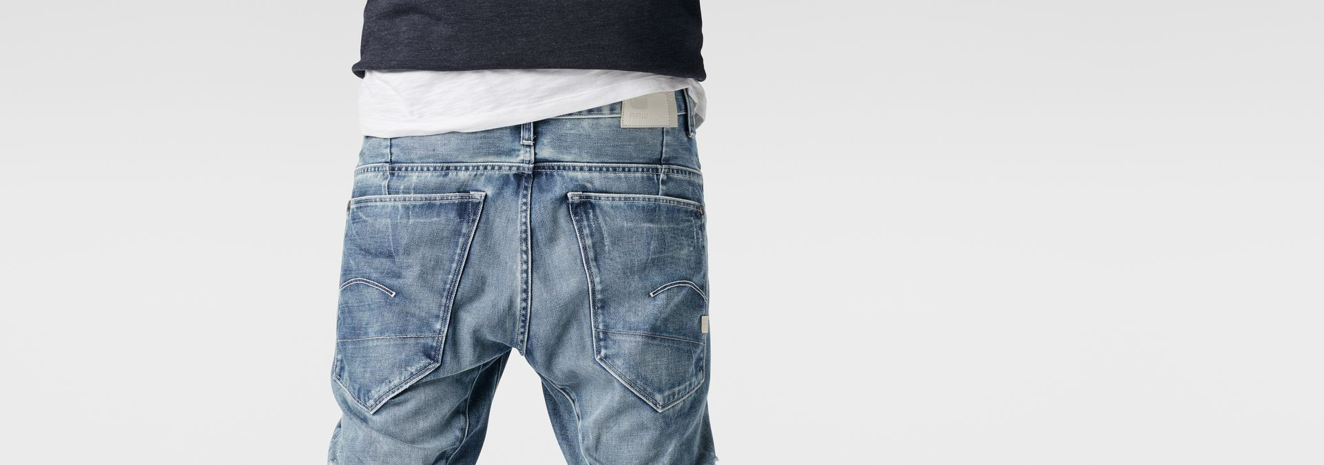 ... G-Star RAW® RAW for the Oceans - Type C 3D Super Slim Jeans ...