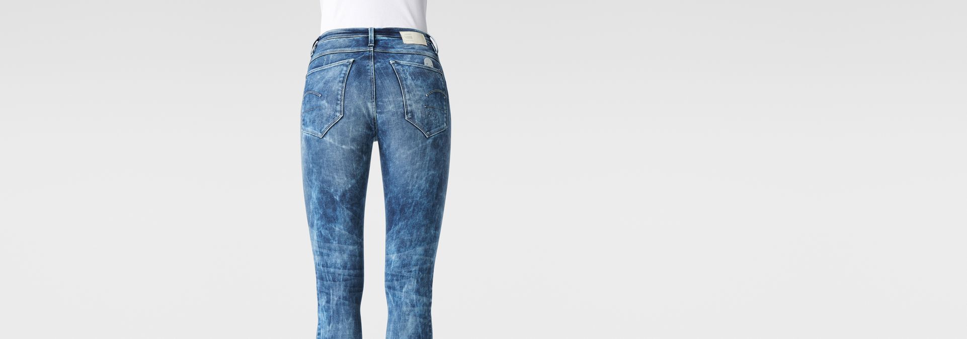 ... G-Star RAW® Raw For The Oceans - Type C Ultra High Waist Jeans