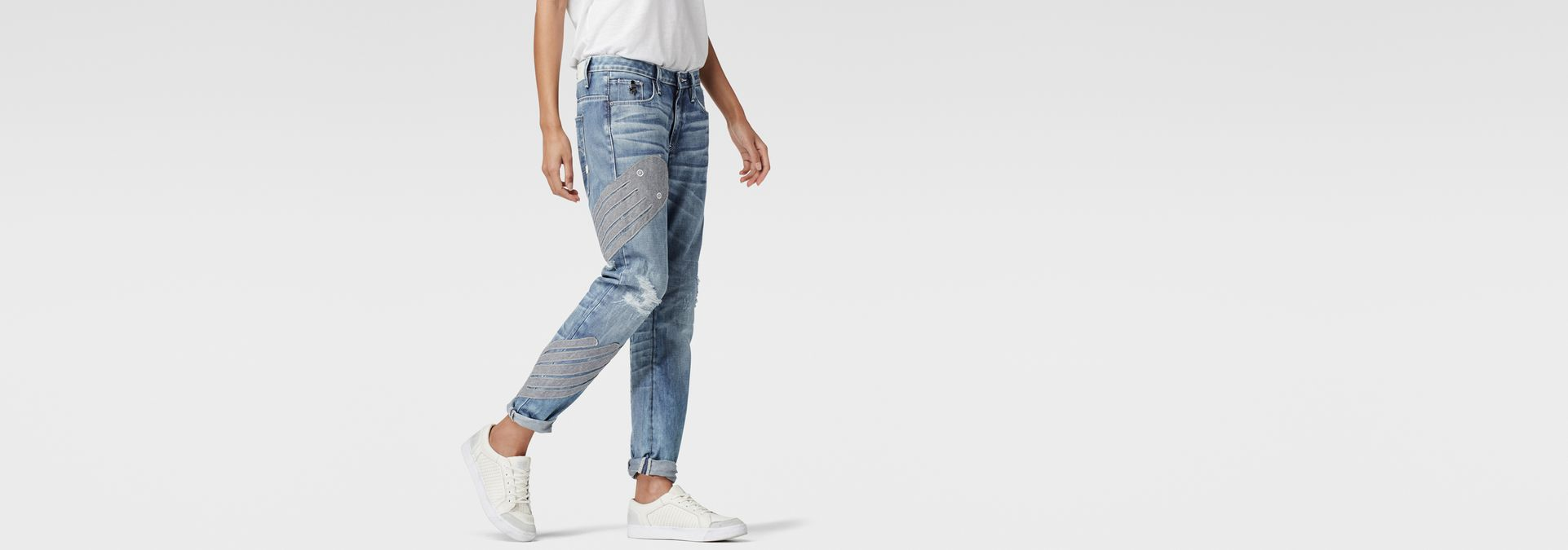 ... G-Star RAW® RAW for the Oceans - Type C 3D Low Boyfriend Jeans ...
