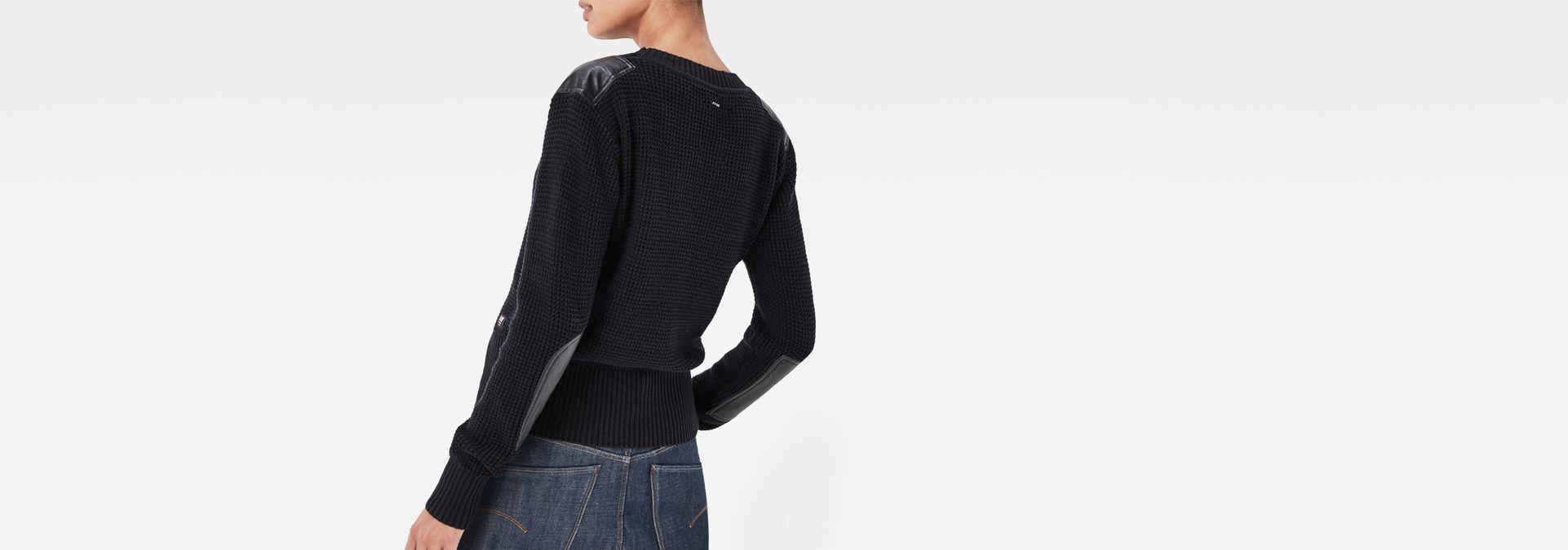 zajie knit black mazarine blue women sale g star raw. Black Bedroom Furniture Sets. Home Design Ideas