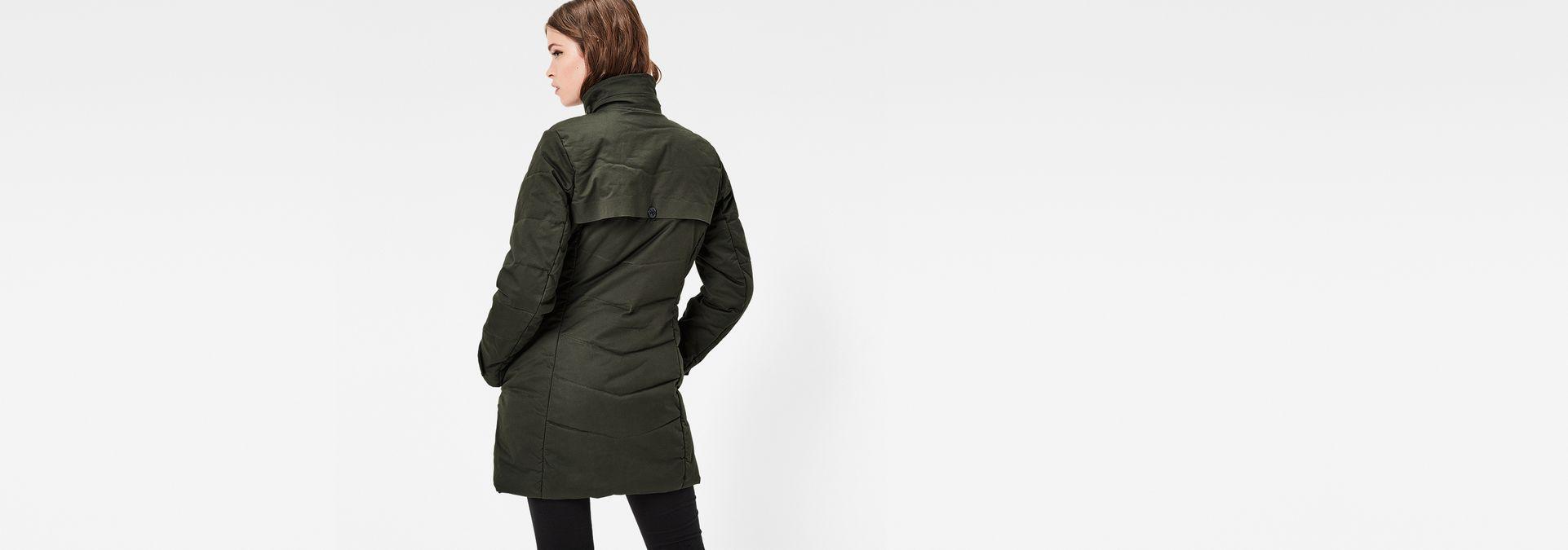 minor classic quilted coat dk combat women sale g star raw. Black Bedroom Furniture Sets. Home Design Ideas