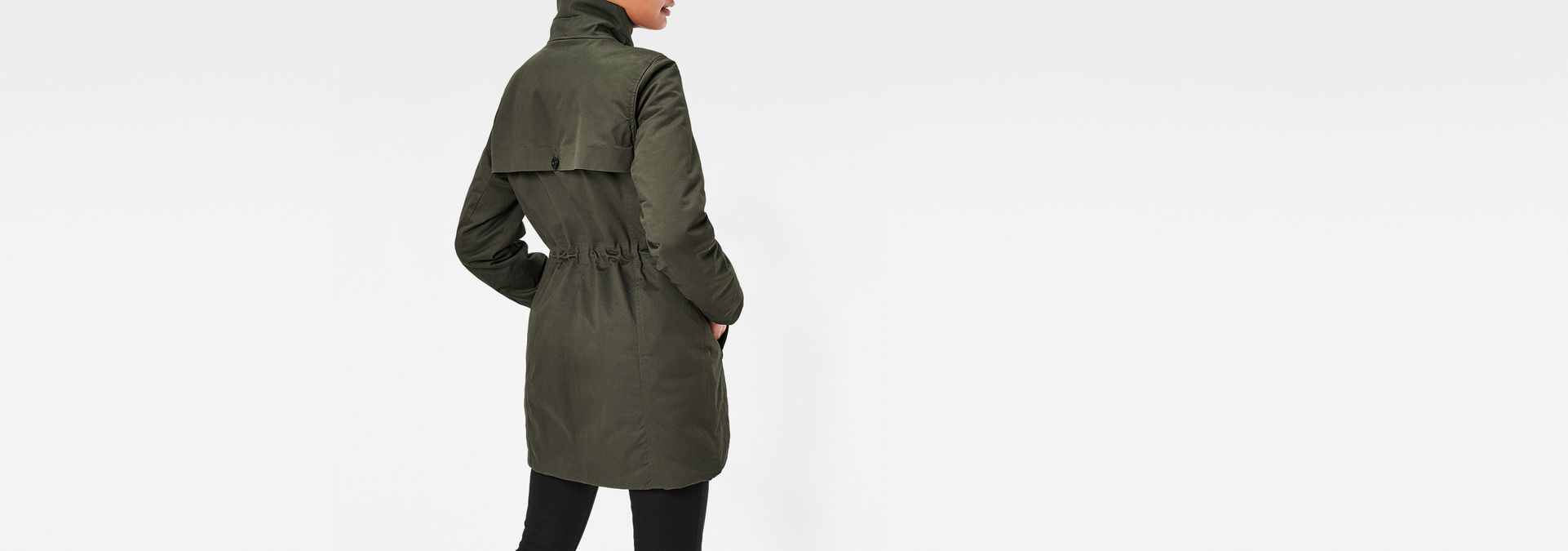 minor classic coat dk combat women g star raw. Black Bedroom Furniture Sets. Home Design Ideas