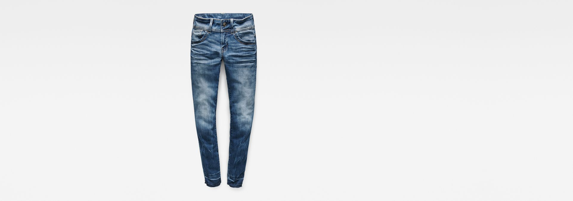 74c2b9f30c6 Lynn Mid Waist Skinny RP Ankle Jeans | G-Star RAW®
